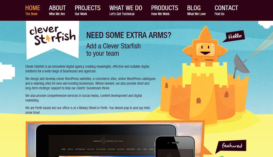 Clever Starfish • Web Design Development Digital Agency Perth WA