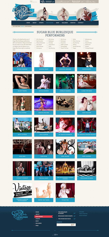 Sugar Blue Burlesque Performers screenshot