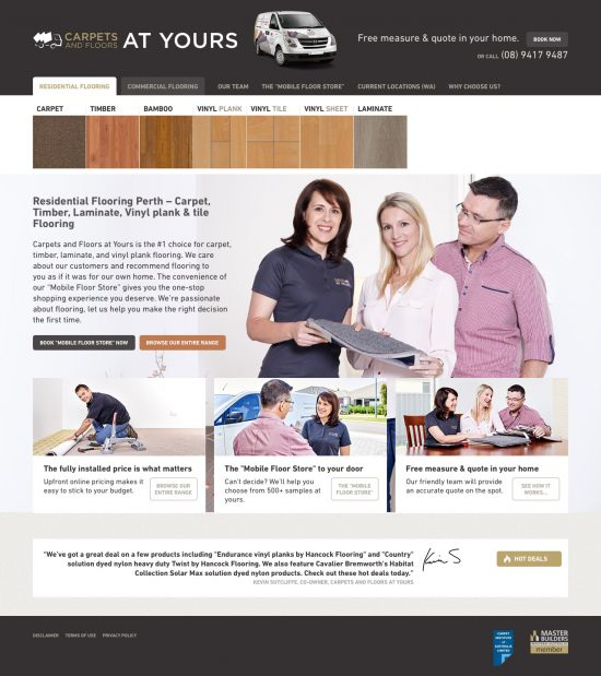 Carpets & Floors Home Page