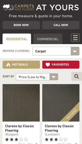 Carpets & Floors mobile