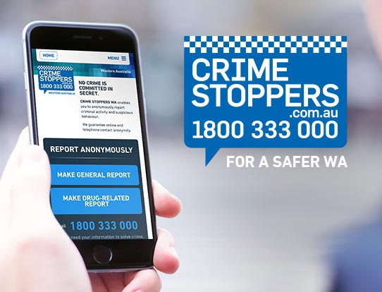 Crime Stoppers WA Website