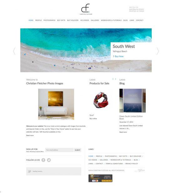 Christian Fletcher Online Homepage