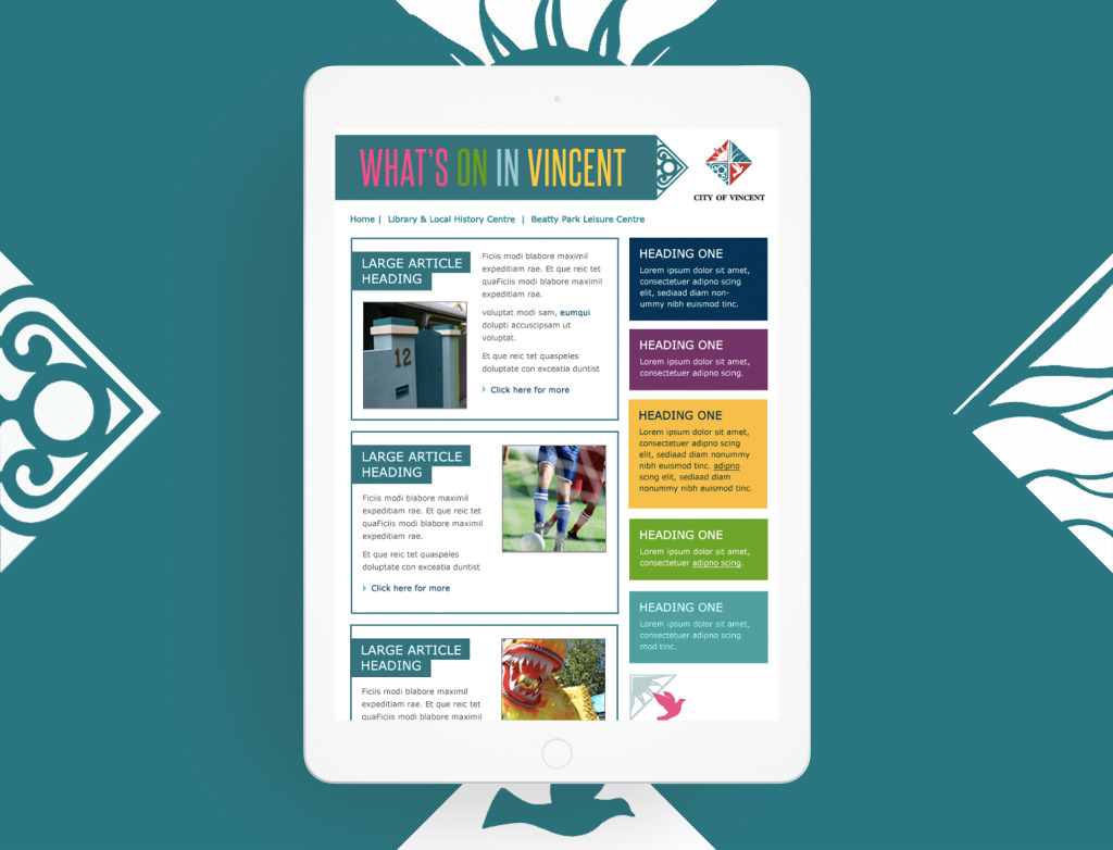City of Vincent Newsletters